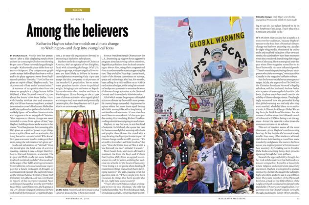 Article Preview: Among the believers, November 16 2015 | Maclean's
