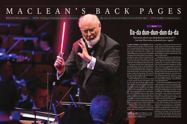 Article Preview: Da-da dun-dun-dun da-da, November 16 2015 | Maclean's
