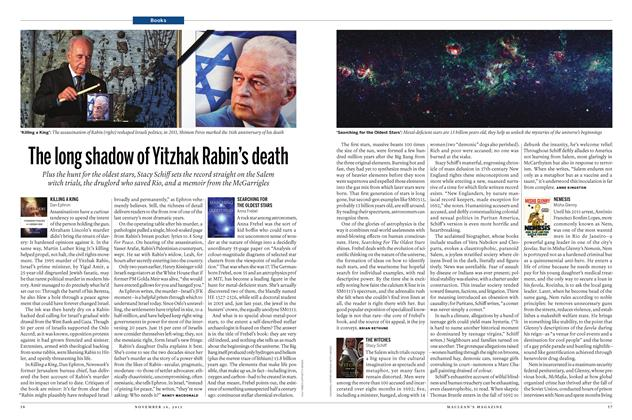 Article Preview: The long shadow of Yitzhak Rabin's death, November 2015 | Maclean's