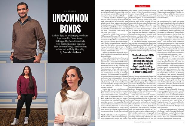 Article Preview: UNCOMMON BONDS, November 16 2015 | Maclean's