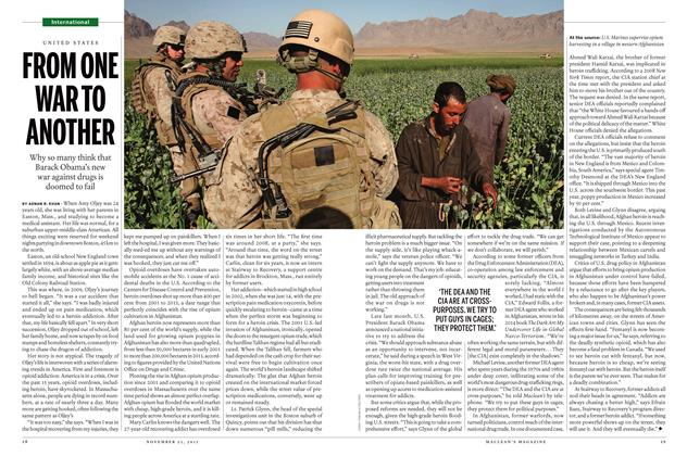 Article Preview: FROM ONE WAR TO ANOTHER, November 23 2015 | Maclean's