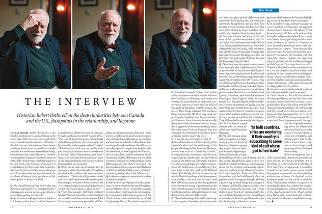 Article Preview: THE INTERVIEW, November 23 2015 | Maclean's