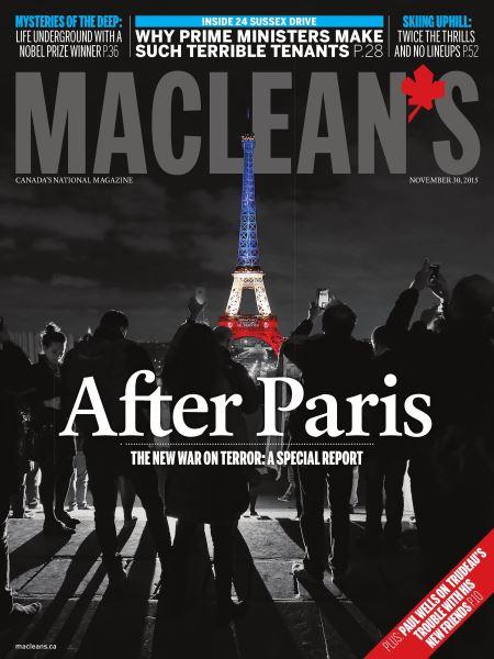 Issue: - November 2015 | Maclean's