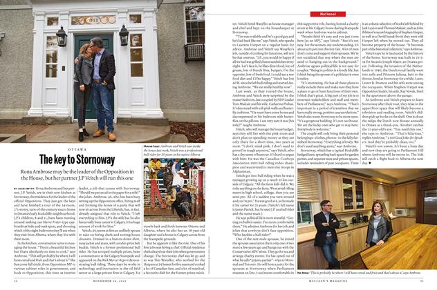 Article Preview: The key to Stornoway, November 30 2015 | Maclean's