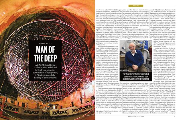 Article Preview: MAN OF THE DEEP, November 2015 | Maclean's