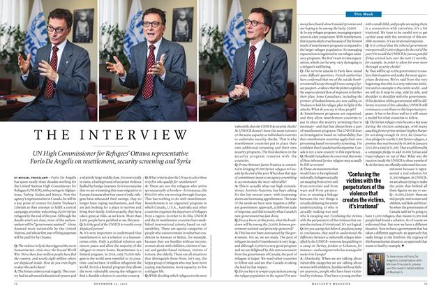 Article Preview: THE INTERVIEW, November 2015 | Maclean's