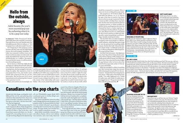 Article Preview: WORST OF 2015 // MUSIC, December 7 2015 | Maclean's