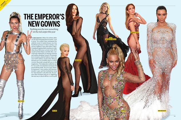 Article Preview: THE EMPEROR'S NEW GOWNS, December 2015 | Maclean's