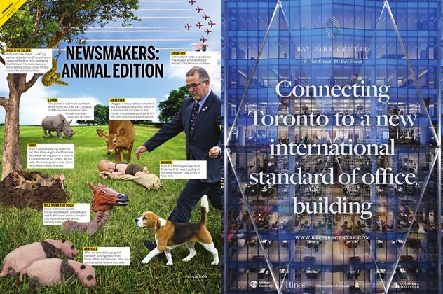 Article Preview: NEWSMAKERS: ANIMAL EDITION, December 7 2015 | Maclean's