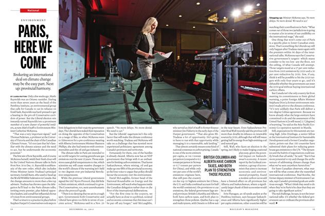 Article Preview: PARIS, HEREWE COME, December 7 2015 | Maclean's