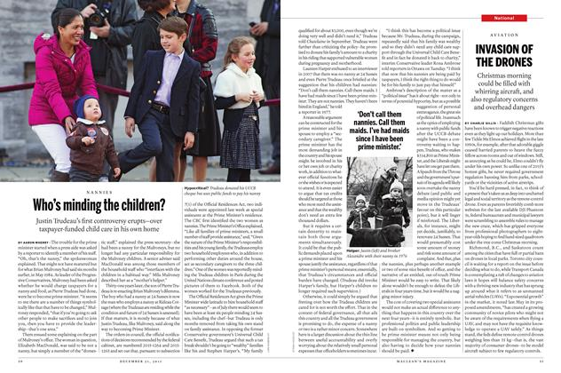 Article Preview: Who's minding the children?, December 21 2015 | Maclean's