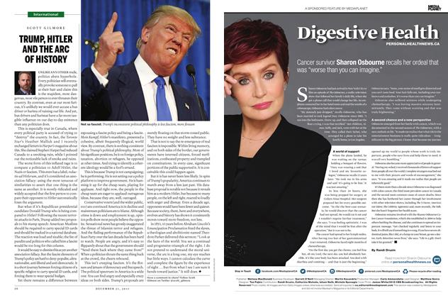 Article Preview: TRUMP, HITLER AND THE ARC OF HISTORY, December 21 2015 | Maclean's