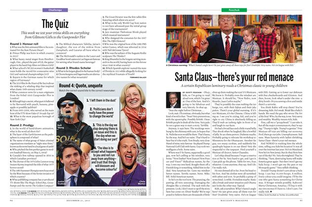 Article Preview: Santa Claus-there's your red menace, December 21 2015 | Maclean's