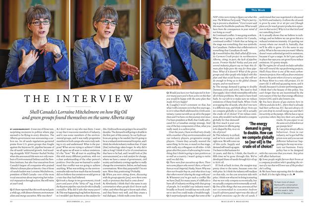 Article Preview: THE INTERVIEW, December 21 2015 | Maclean's
