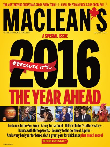 Issue: - JANUARY 4,2016 2015 | Maclean's