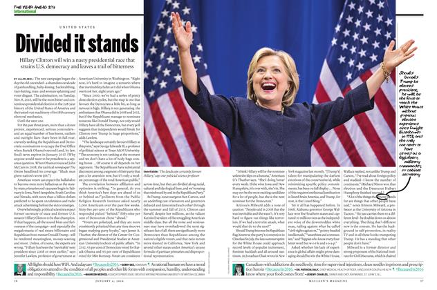 Article Preview: Divided it stands, JANUARY 4 2015 | Maclean's