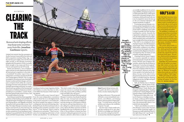 Article Preview: CLEARING THE TRACK, JANUARY 4 2015 | Maclean's
