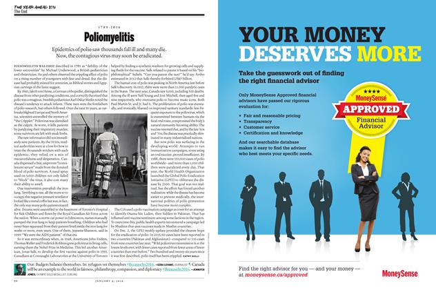 Article Preview: 1789 - 2016 Poliomyelitis, JANUARY 4 2015 | Maclean's
