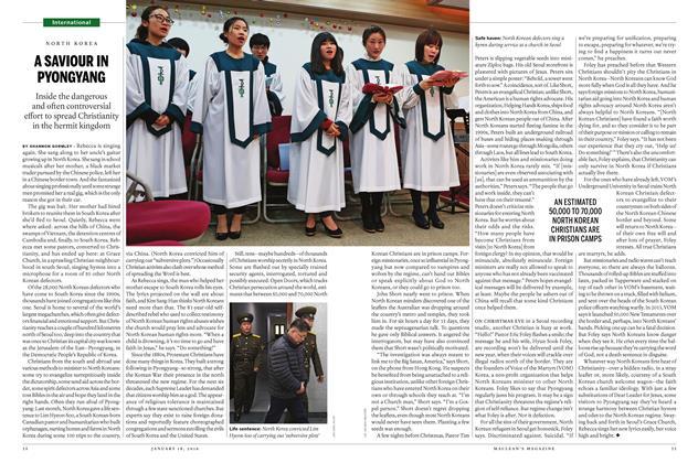 Article Preview: A SAVIOUR IN PYONGYANG, January 18 2016 | Maclean's