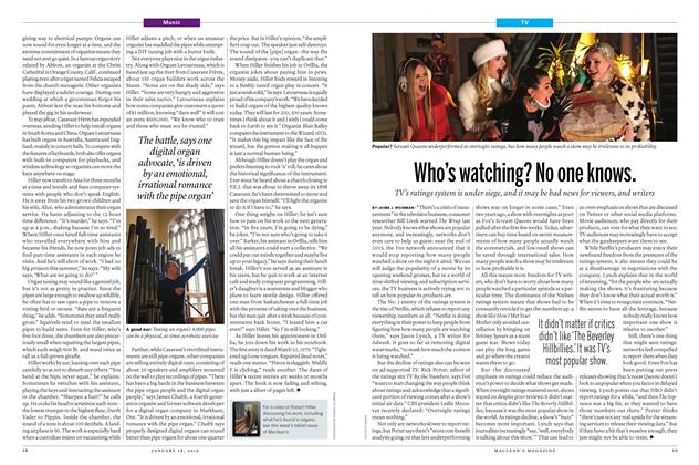 Article Preview: Who's watching? No one knows., January 18 2016 | Maclean's