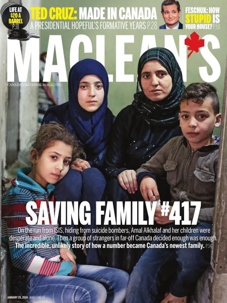 Issue: - January 2016 | Maclean's