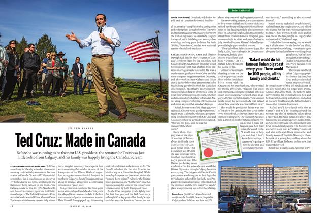 Article Preview: Ted Cruz: Made in Canada, January 28 2016 | Maclean's