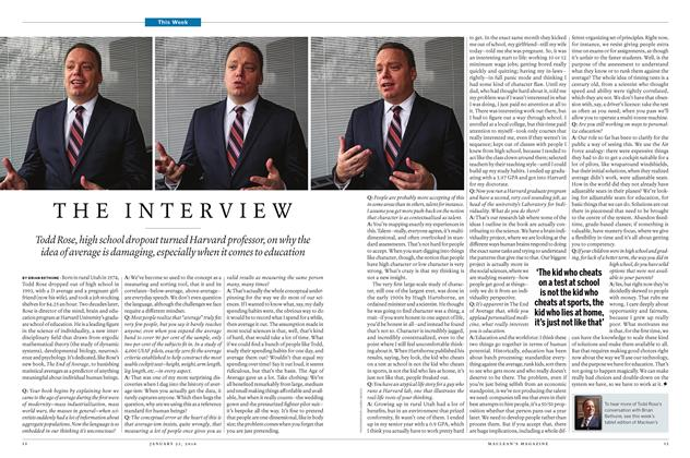 Article Preview: THE INTERVIEW, January 28 2016 | Maclean's