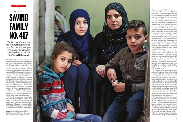 Article Preview: SAVING FAMILY NO. 417, January 28 2016 | Maclean's