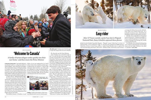 Article Preview: 'Welcome to Canada', February 1 2016 | Maclean's