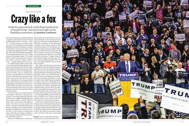 Article Preview: Crazy like a fox, February 1 2016 | Maclean's