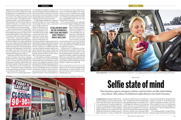 Article Preview: Selfie state of mind, February 1 2016 | Maclean's