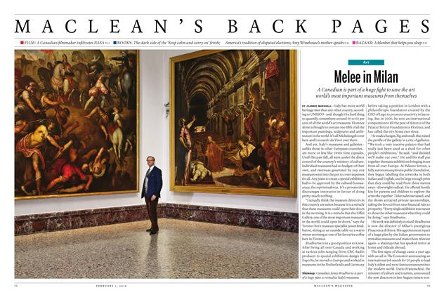 Article Preview: Melee in Milan, February 1 2016 | Maclean's