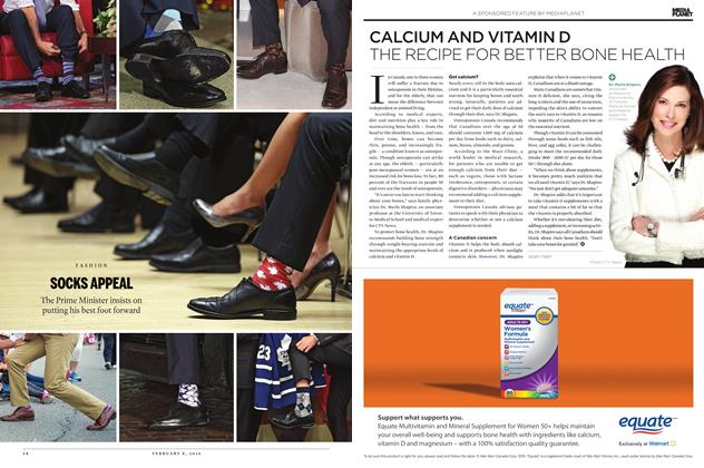 Article Preview: SOCKS APPEAL, February 8 2016 | Maclean's