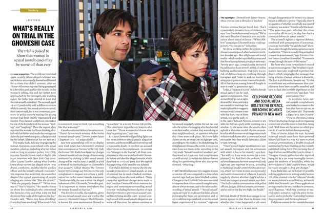 Article Preview: WHAT'S REALLY ON TRIAL IN THE GHOMESHI CASE, February 8 2016 | Maclean's