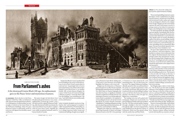 Article Preview: From Parliament's ashes, February 15 2016 | Maclean's
