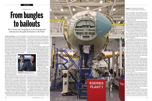 Article Preview: From bungles to bailouts, February 15 2016 | Maclean's