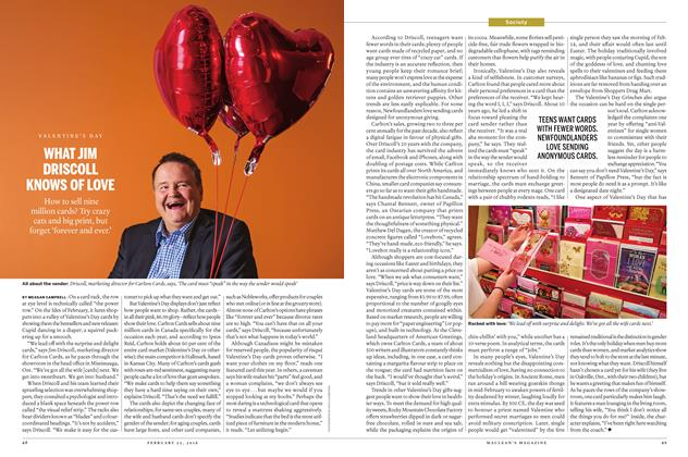 Article Preview: WHAT JIM DRISCOLL KNOWS OF LOVE, February 2016 | Maclean's