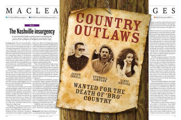 Article Preview: The Nashville insurgency, February 15 2016 | Maclean's