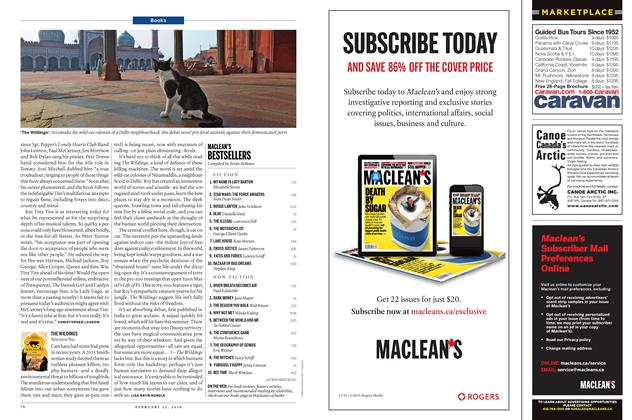 Article Preview: MACLEAN'S BESTSELLERS, February 15 2016 | Maclean's