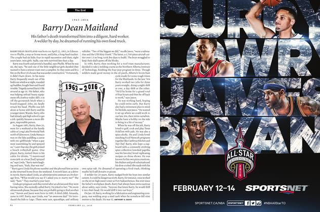 Article Preview: 1963-2016 Barry Dean Maitland, February 15 2016 | Maclean's