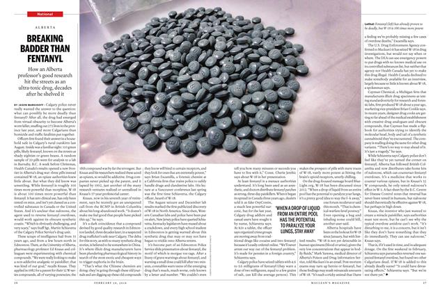Article Preview: BREAKING BADDER THAN FENTANYL, February 29 2016 | Maclean's