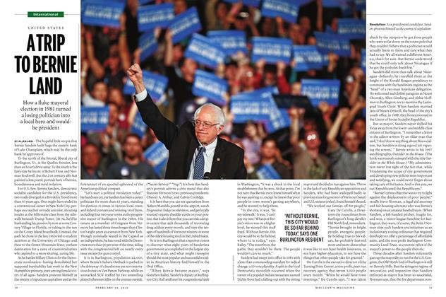 Article Preview: A TRIP TO BERNIE LAND, February 29 2016 | Maclean's