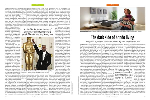 Article Preview: The dark side of Kondo living, February 29 2016 | Maclean's