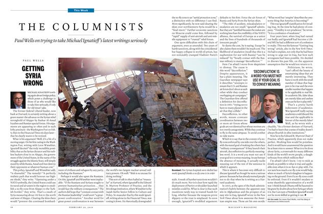 Article Preview: GETTING SYRIA WRONG, February 29 2016   Maclean's