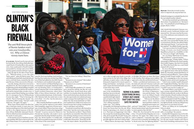 Article Preview: CLINTON'S BLACK FIREWALL, March 7 2016 | Maclean's