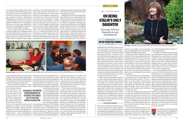 Article Preview: ON BEING STALIN'S ONLY DAUGHTER, March 7 2016 | Maclean's
