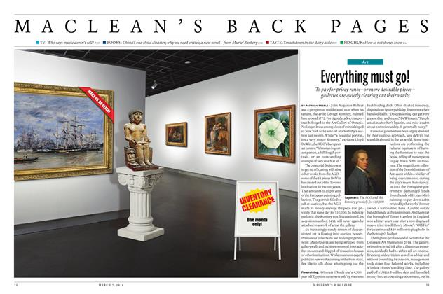 Article Preview: Everything must go!, March 2016 | Maclean's