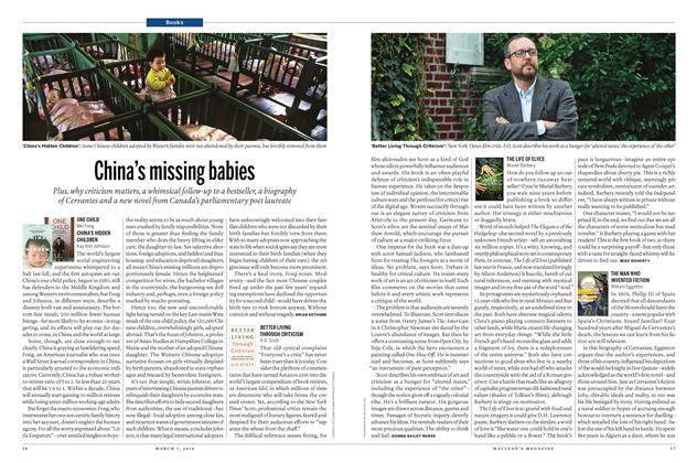 Article Preview: China's missing babies, March 7 2016 | Maclean's