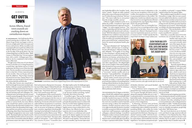 Article Preview: GET OUTTA TOWN, March 2016   Maclean's