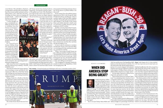 Article Preview: WHEN DID AMERICA STOP BEING GREAT?, March 14 2016 | Maclean's